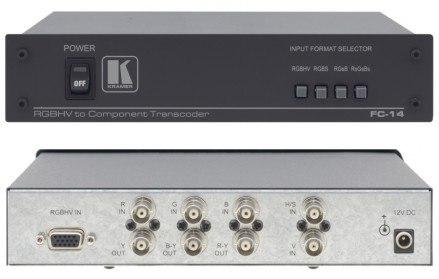 Format Konverter RGB. Kramer FC-14