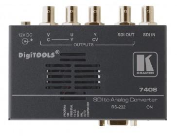 SDI Konverter. Format-Wandler für SDI-Signale. Kramer - 7408