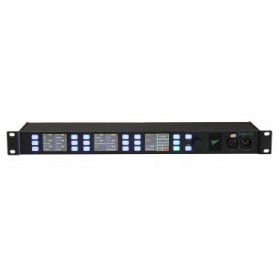 MCX 32 Kanal 19'' IP Intercom Rackstation 1HE Sprechstelle