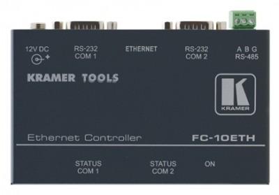 RS-232 zu Ethernet. Steuersignal-Konverter. Kramer FC-10ETH